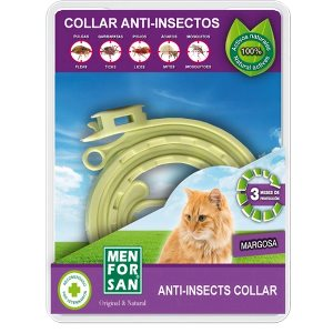 Menforsan Anti- Insects Flea & Tick Collar for Cats