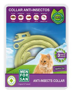 Menforsan Anti Insects Flea Tick Collar for Cats