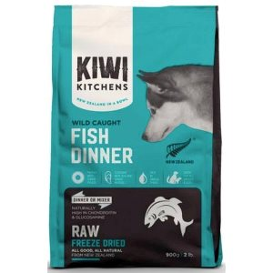 4. Kiwi Kitchens Freeze Dried Fish Dinner 425g