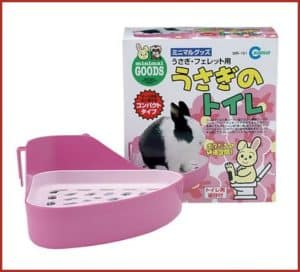 Litter box for rabbits