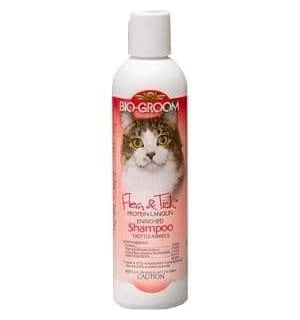 Bio Groom Cat Flea Tick Shampoo
