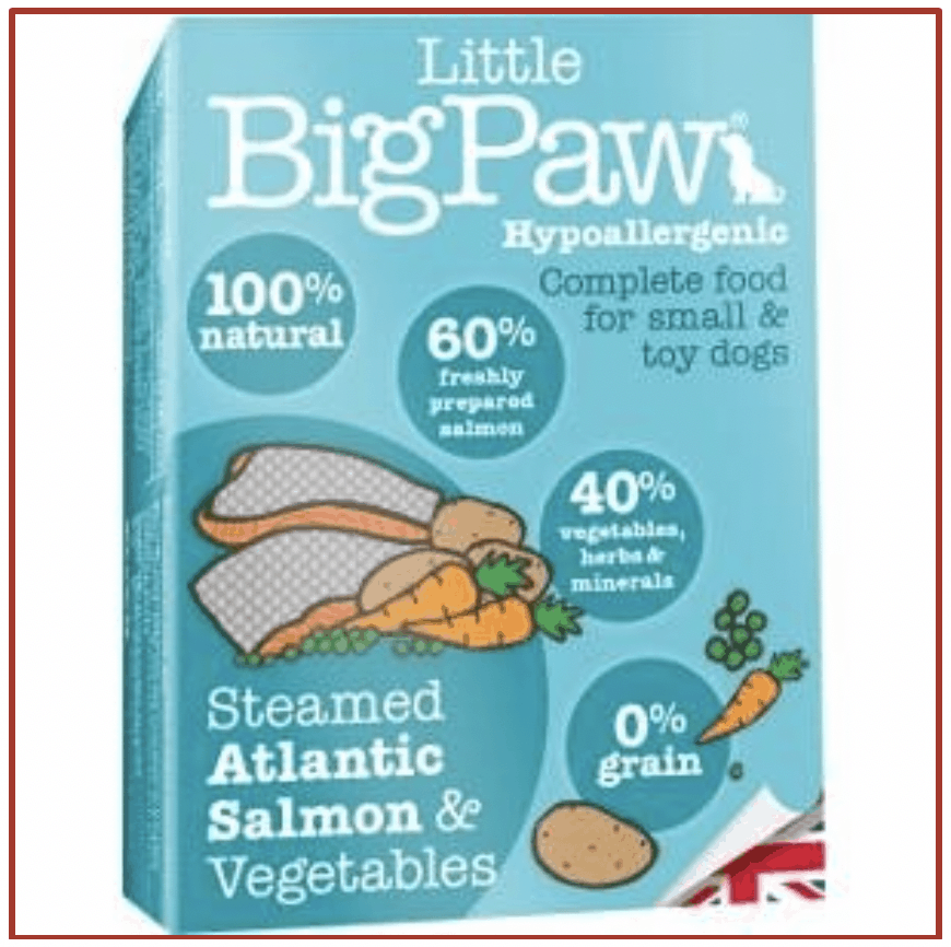 Little Big Paw Steamed Atlantic Salmon and Vegetables