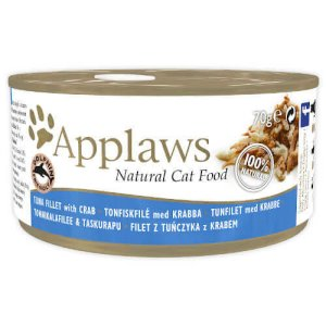 Applaws Tuna Fillet with Crab for Cats